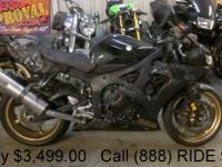 2009 Yamaha R6 Sport Bike For Sale-U1882 with only