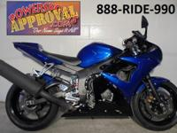 2009 Yamaha R6 Sport Bike for sale only $149 Per Month!