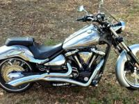 2009 Yamaha Raider available. Silver with bunches of