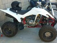 2009 Yamaha Raptor 350. 2009 Yamaha Raptor 350 model in