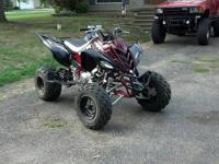 I have a stock 2009 Raptor 700 Special Edition with 30