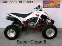 2009 Yamaha Raptor 700R ATV - For sale with low hours!