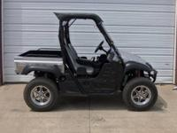 2009 Yamaha Rhino 700 4x4 Sport Edition is in showroom