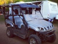 2009 Yamaha Rhino for sale, Limited Edition Silver with