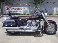 I currently have a 2009 Yamaha Road Star Silverado for