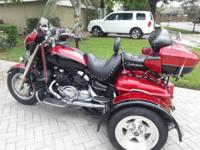 2009 Yamaha Royal Venture Trike- - Beautiful 2009 Red &