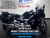 2009 YAMAHA STANDARD SHIFT ABS Allow us to earn your