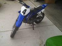 Yamaha TT-R110e, Like new condition, owned by young