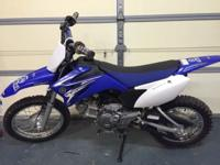I am selling my sons ttr-110. Bike is an 09 that was