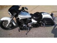2009 Yamaha V Star 1300 TOURER, This bike is loaded