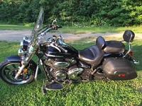Yamaha 2009 V-Star 950, 23k, cruise assist, cup holder,