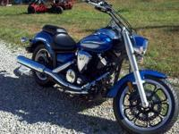 I am selling my 2009 V-Star 950 because I do not ride