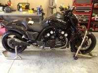 2009 Yamaha Vmax for sale. This bike has many high end