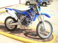2009 Yamaha WR450F WITH UPGRADED PIPE AND  THE TOUGHER