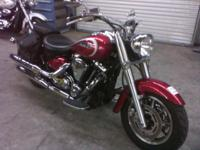 Stock Yamaha Road Star with low miles. Looks and runs