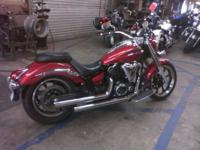 2009 V-STAR 950 Has pipes and lowered just a bit. Looks