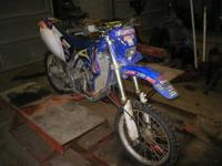 2009 Yamaha yfz 450 r (race model) with thousands of