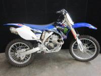 If you are serious about racing ... the 2009 YZ450F is