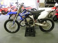 2009 Yamaha YZ450f Engine and transmission
