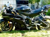 2009 YAMAHA YZF R6 7000.00 or Finest Resonable Deal.