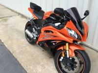 2009 Yamaha R6 with 6890 miles. The title clear and