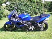 2009 Yamaha YZF-R6 Sportbike This bike has 5,300 miles
