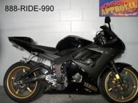 2009 Yamaha R6 Raven Edition sport bike for sale only