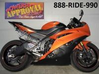 2009 Yamaha R6 Crotch Rocket for sale in Pearl Orange