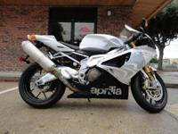 2009 Aprilla RSV1000R, One Owner, Rear Passenger seat
