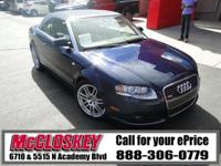 This SPECIAL ADDITION 2009 Audi A4 comes with All Wheel