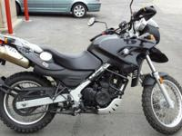 2009 BMW GS650 ADVENTURE BIKE 18K MILES EXCELLENT