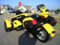 The Spyder uses an ATV-like chassis. The manufacturer