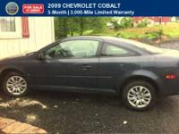 CERTIFIED 2009 Chevrolet Cobalt Comes with a full