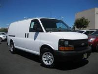 One Owner & Low Miles Chevrolet Van G1500 Work Van