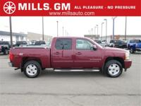 Recent Arrival! HEATED LEATHER, CREW CAB LTZ 4X4, SHARP