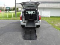 This is a Lowered Floor rear entry wheelchair van