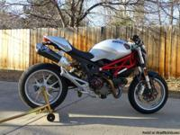 2009 Ducati Monster 1100 5,200 miles on it. with the