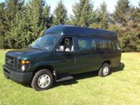 2009 Ford E250 Super Duty Commercial Wheel Chair van