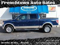 LOW MILEAGE LARIAT 4X4 WITH EVERY OPTION...LEATHER,