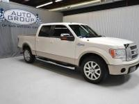 2009 FORD F150 SUPER CREW KING RANCH 2WD OXFORD WHITE/