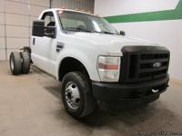 2009 Ford F350 4x4 5.4 V8 Regular Cab Cab & Chassis