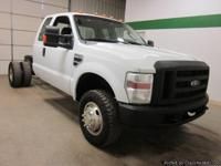 2009 Ford F350 4x4 V10 Extended Cab Cab & Chassis