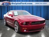 2009 Ford Mustang . CARFAX: Buy Back Guarantee, Clean