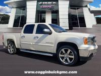 CARFAX One-Owner. White Diamond Tricoat 2009 GMC Sierra