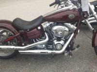 2009 Harley-Davidson FXCWC Softail Rocker C H-D's out