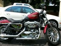 2009 HARLEY DAVIDSON SPORSTER WOMAN OWNED ALWAYS