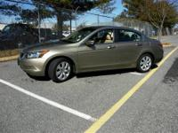 Accord EX 2.4, 5-Speed Automatic with Overdrive, Tan,
