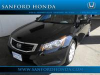 Accord EX-L 2.4 Honda Certified 4D Sedan Black and