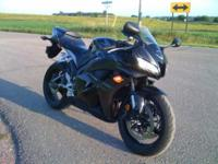Description Make: Honda Model: CBR 600RR Mileage: 1,200