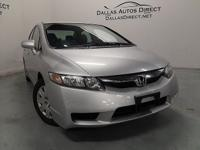 This 2009 Honda Civic Sdn GX is proudly offered by
